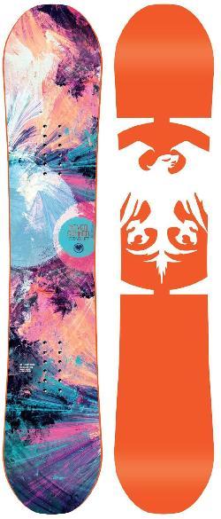 Never Summer Starlet Snowboard