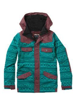 Nikita Mayon Jacquard/Canvas Snowboard Jacket