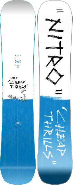 Nitro Cheap Thrills Wide Snowboard