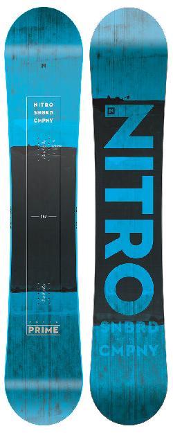 Nitro Prime Blue Wide Blem Snowboard