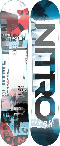 Nitro Prime Collage Wide Snowboard