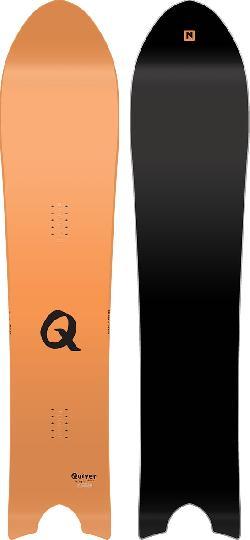 Nitro Quiver Pow Blem Snowboard