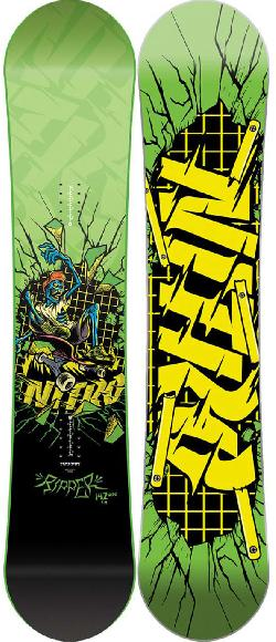 Nitro Ripper Youth Wide Snowboard