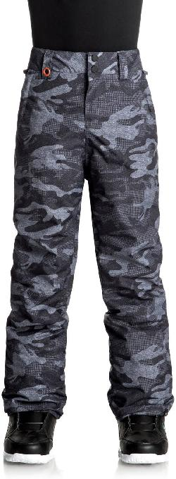 Quiksilver Estate Youth Printed Snowboard Pants
