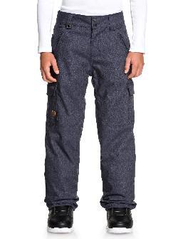 Quiksilver Porter Denim Snowboard Pants