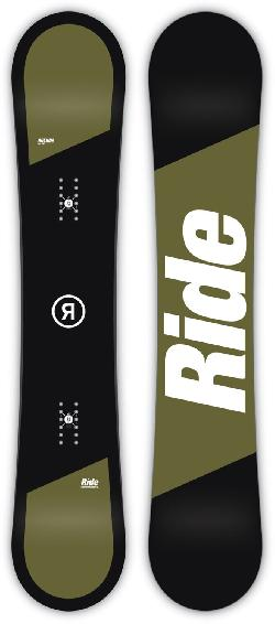 Ride Agenda Wide Snowboard
