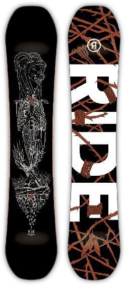 Ride Wild Life Wide Snowboard