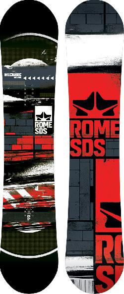 Rome Mechanic Midwide Snowboard