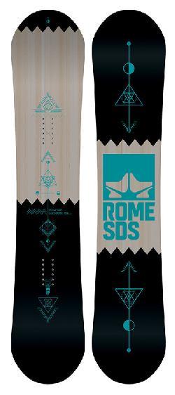 Rome Mechanic Wide Blem Snowboard