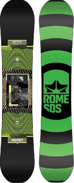 Rome Agent Wide Snowboard