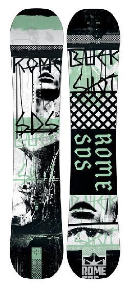 Rome Buckshot Wide Blem Snowboard