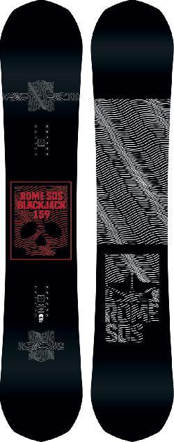Rome Blackjack Blem Snowboard