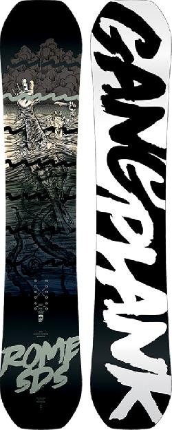 Rome Gang Plank Wide Snowboard