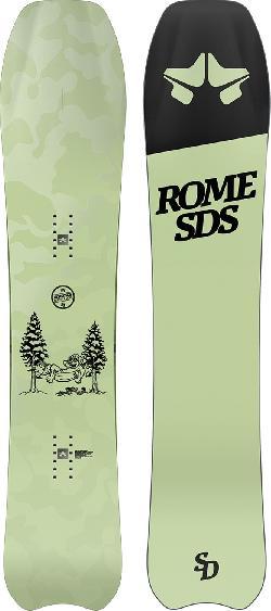 Rome Service Dog Snowboard