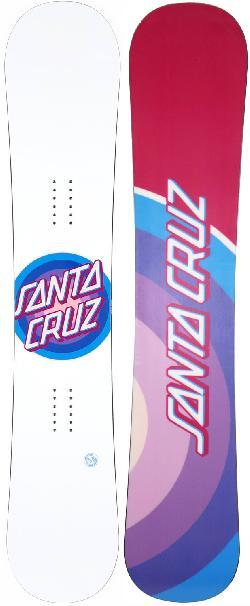Santa Cruz Gleam Dot Snowboard