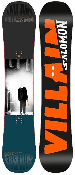 Salomon The Villain Grom Wide Snowboard