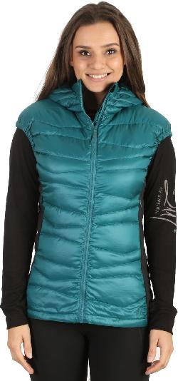 Sierra Designs Dridown Hooded Vest Spruce