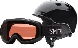 Smith Zoom Jr. w/ Gambler Goggles Snow Helmet